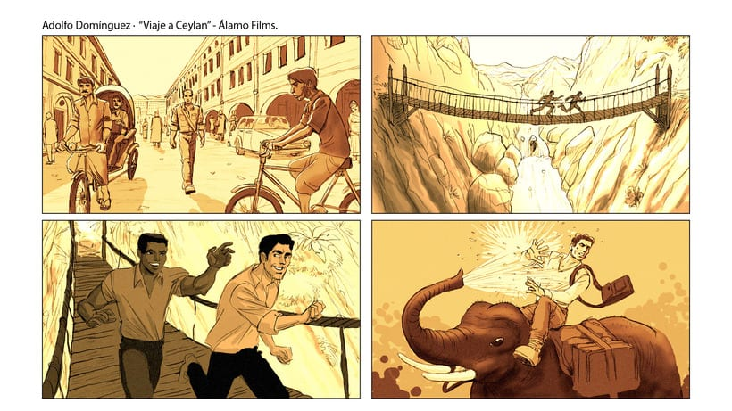 Story Board - Adolfo Domínguez. 2