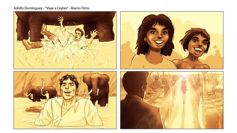 Story Board - Adolfo Domínguez. 3