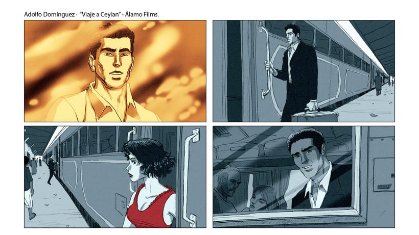 Story Board - Adolfo Domínguez. 4