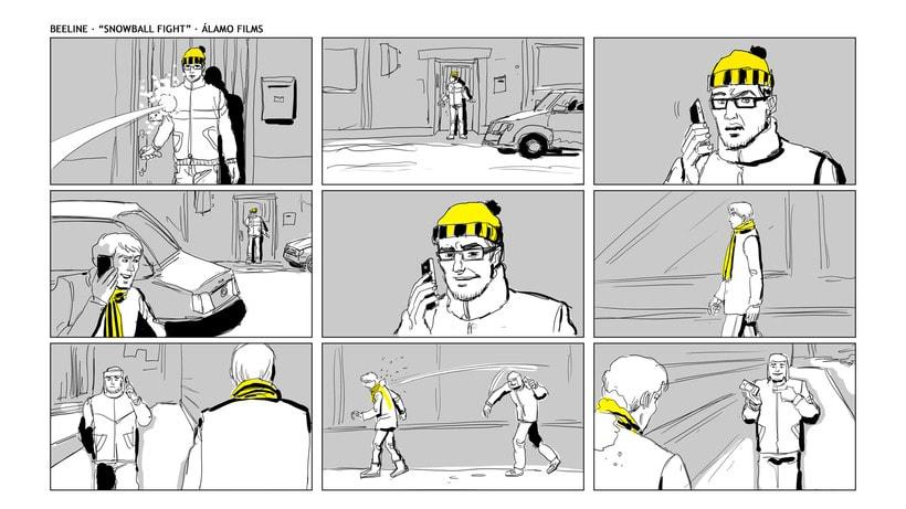 Story Board - Beeline. 1