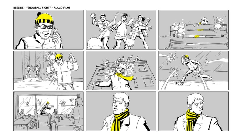 Story Board - Beeline. 3