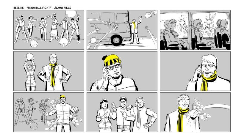 Story Board - Beeline. 4