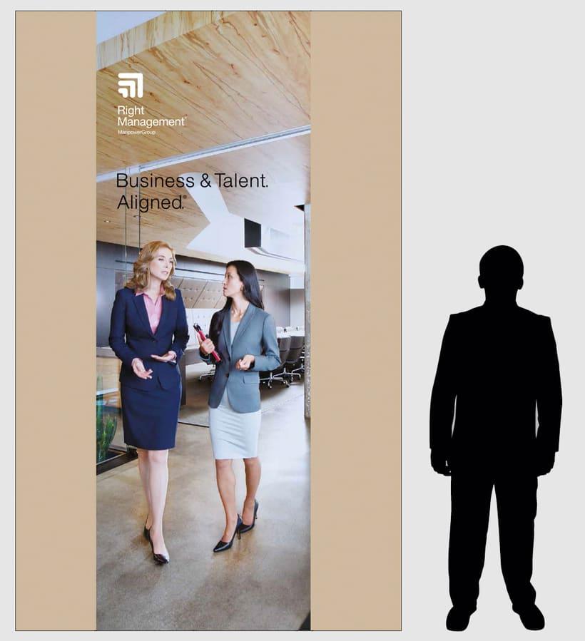 Decoración oficinas Right Management y Experis 1