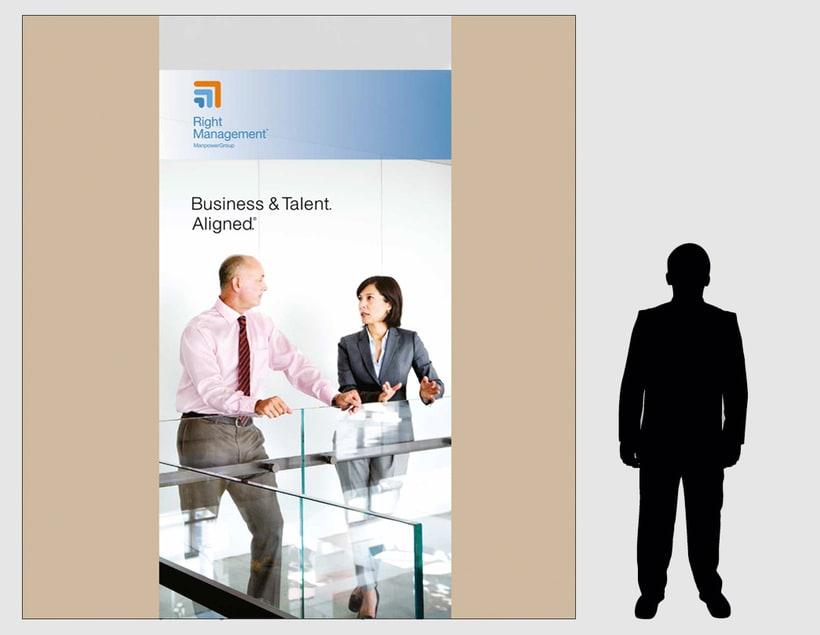 Decoración oficinas Right Management y Experis 2