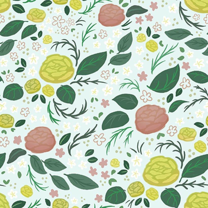 Spring Roses Pattern 0
