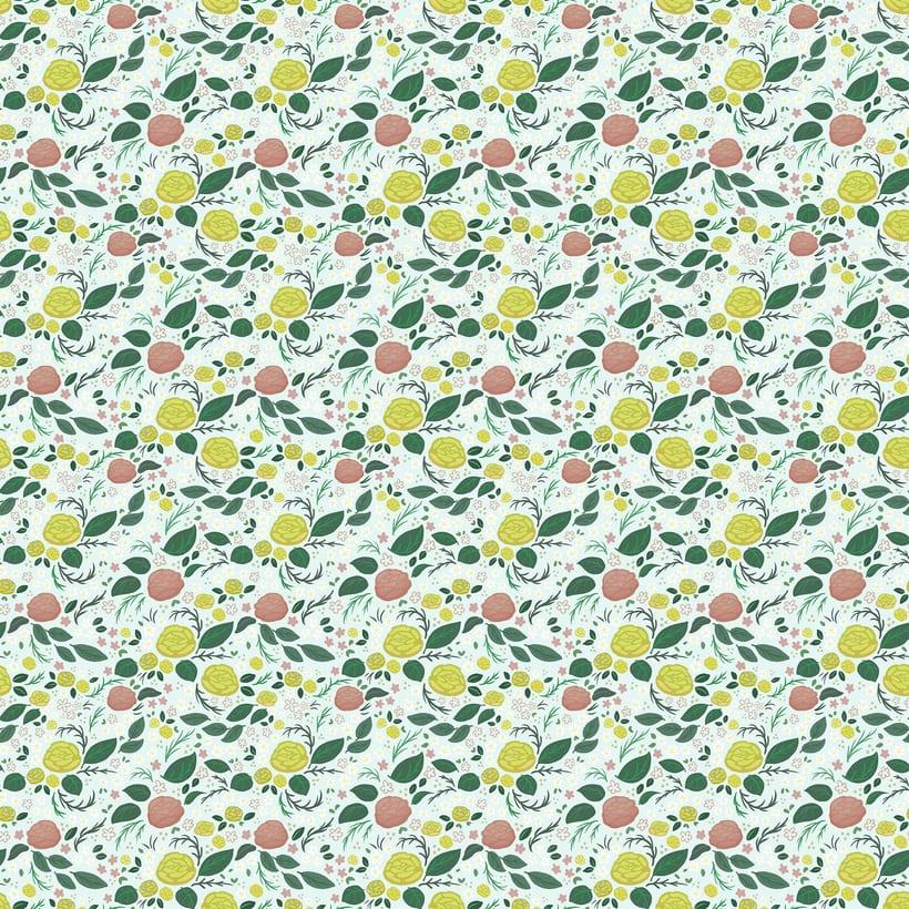Spring Roses Pattern 2