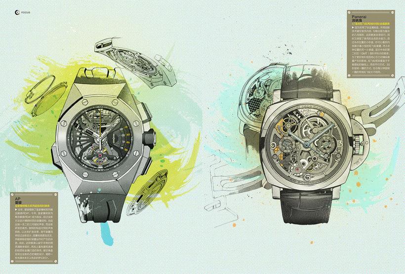 Ilustraciones para GQ China 6