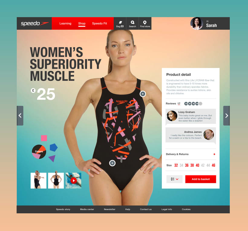 SPEEDO - The flow – A mix between performance and emotion. 2