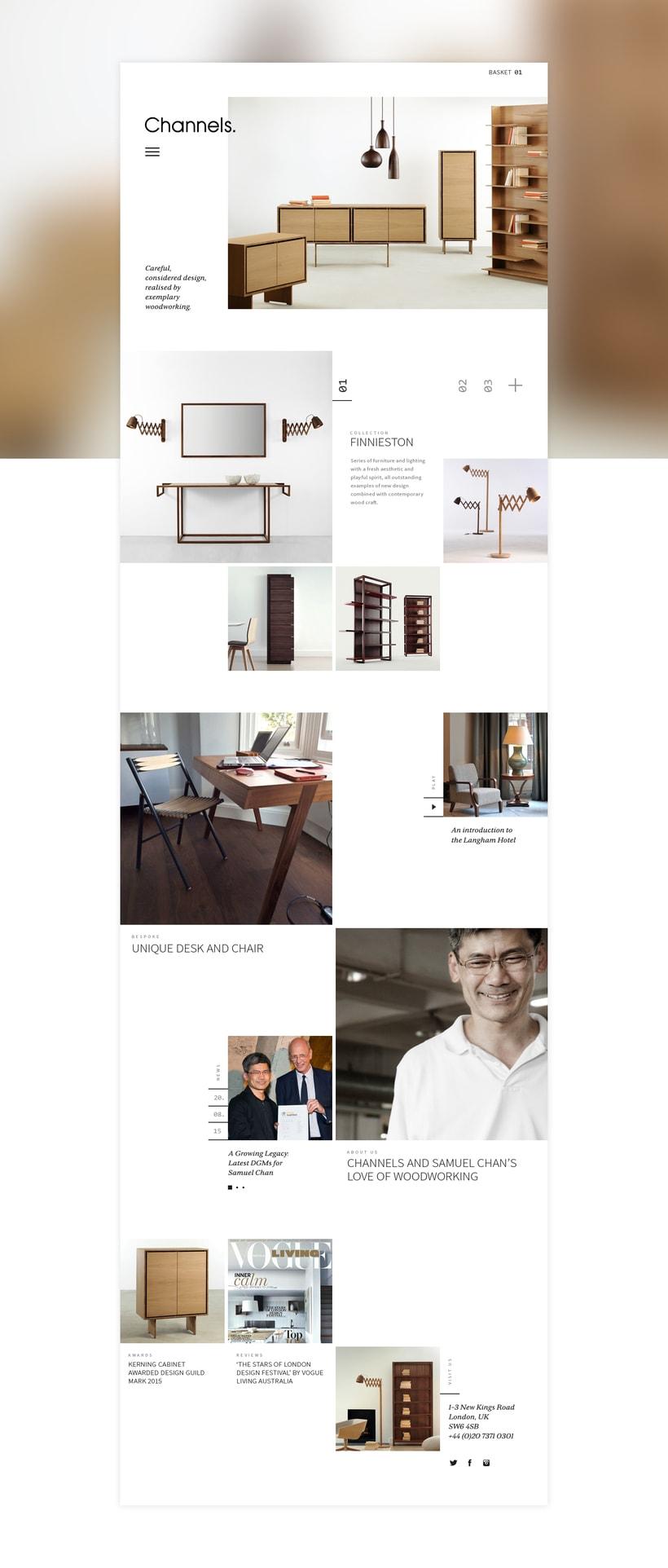 Channels Furniture design 0