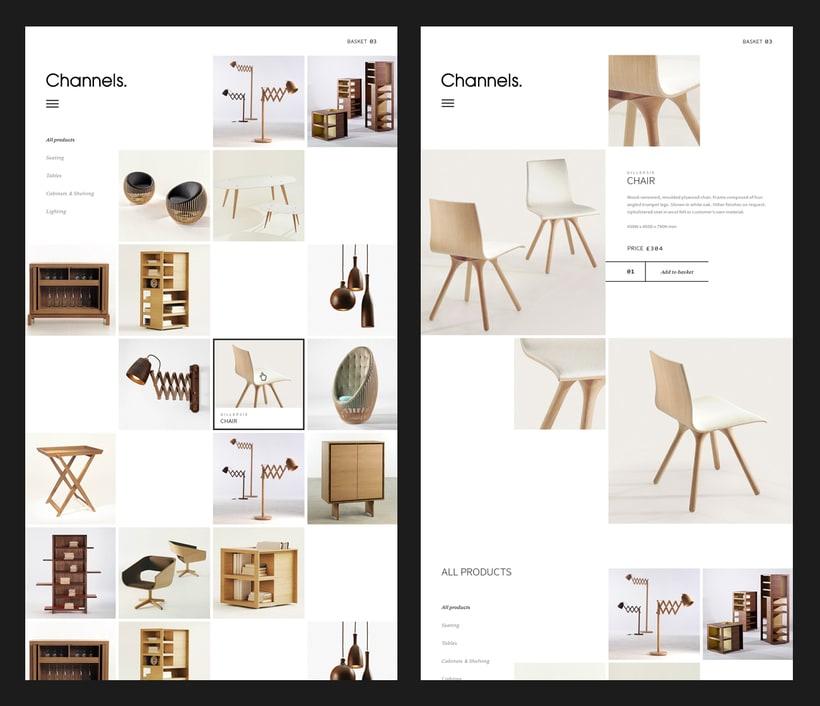 Channels Furniture design 2