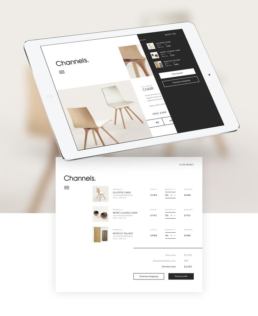 Channels Furniture design 4