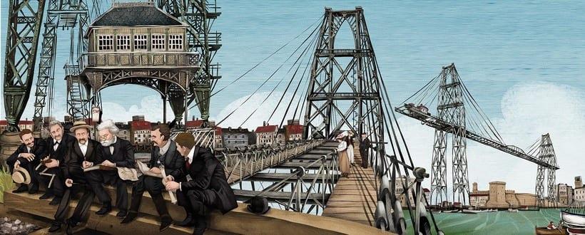 Murales Puente Colgante de Portugalete -1