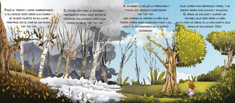 """Nuevo proyectoAlbum ilustrado """"Corazón de roble"""" 3"""