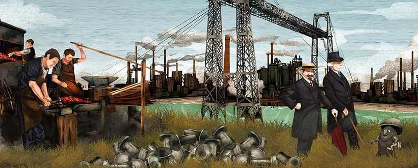 Murales Puente Colgante de Portugalete 0
