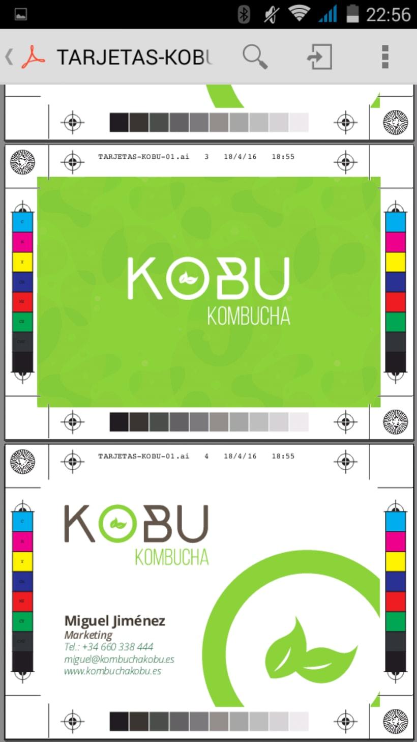 KOBU Kombucha 0