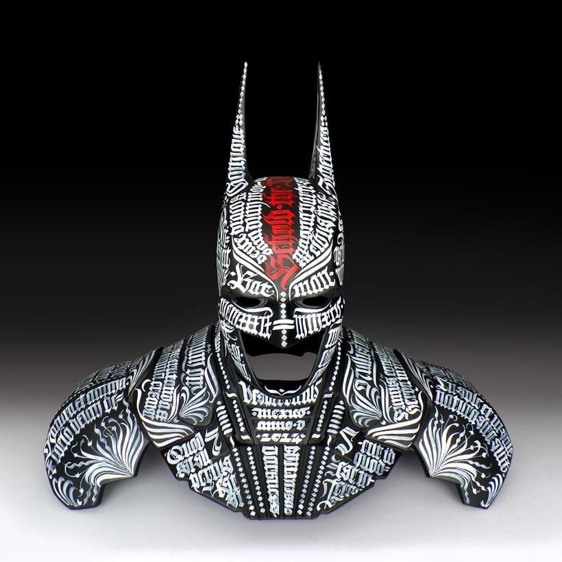 Batman 75  |  Busto caligráfico -1