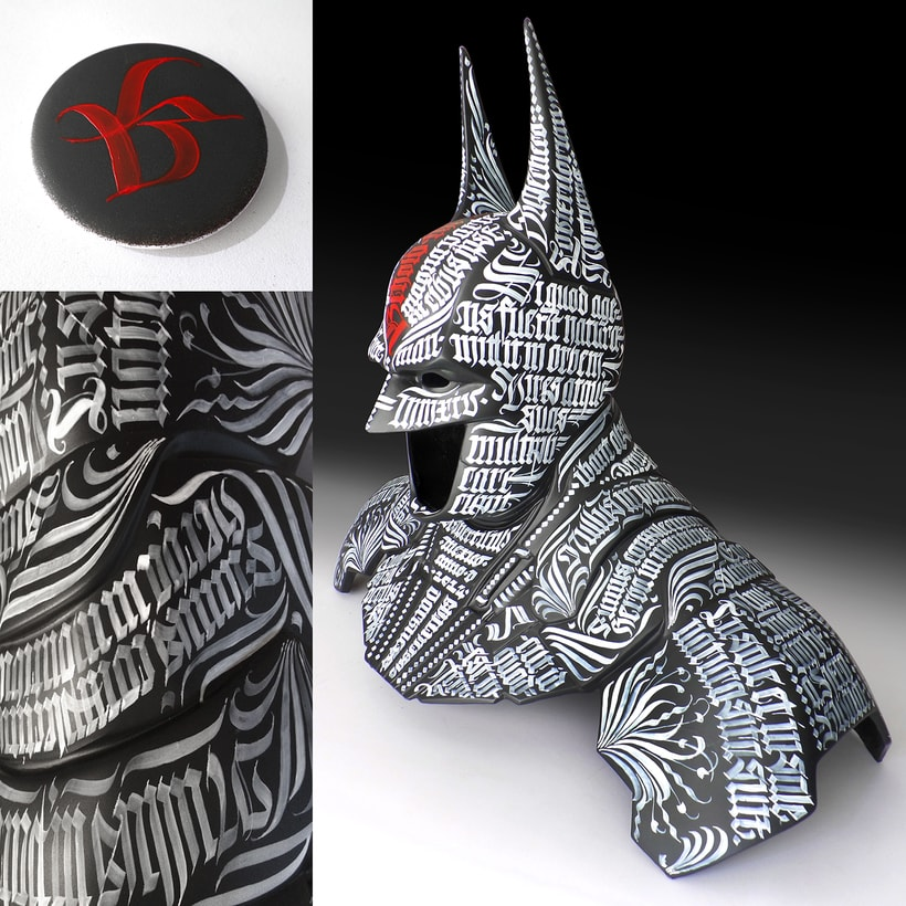 Batman 75  |  Busto caligráfico 0
