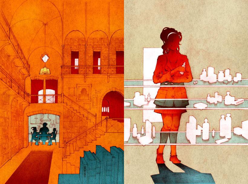 El Libro Salvaje  |  Novela ilustrada 3