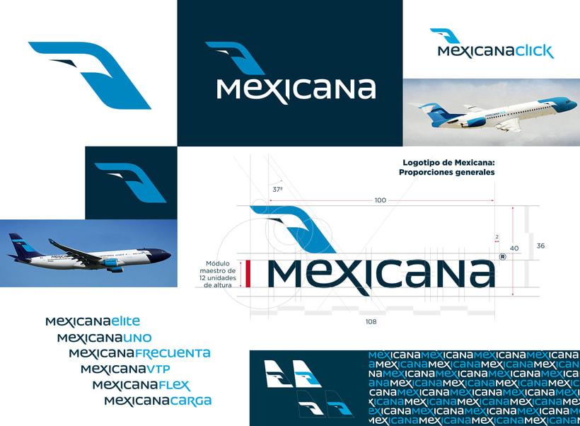 Mexicana | Identidad & Logo 1