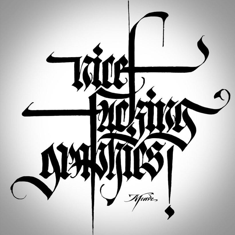 NFGraphics | Caligrafía para T-shirts 2