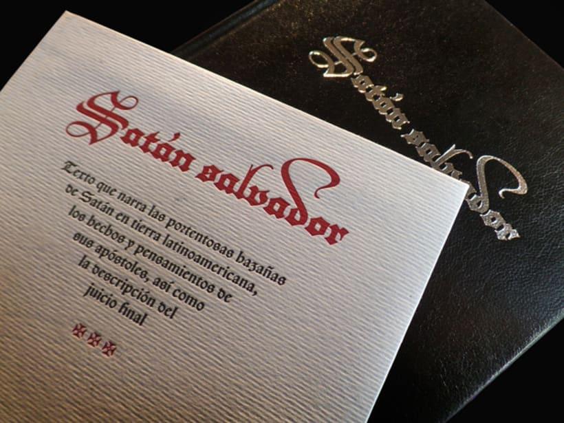 Satán Salvador | Libro ilustrado 3