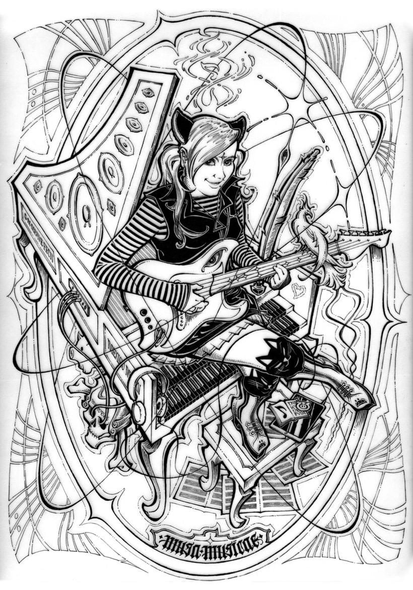 Musa Musicae | Proyecto de cartel 0