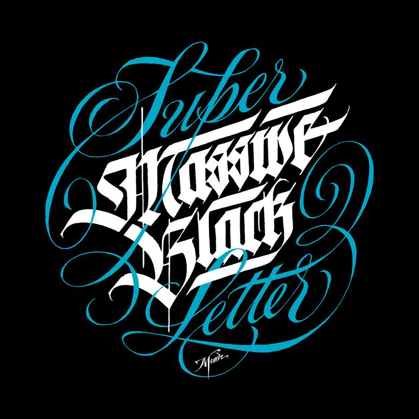 T-shirts caligráficas por Meave -1