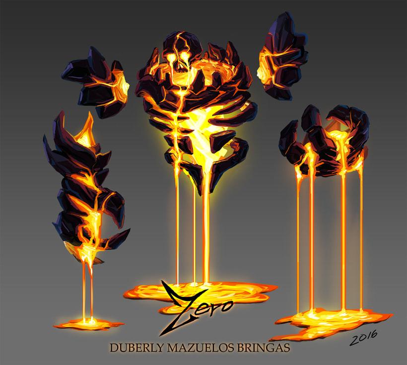 Criatura elemental de fuego 0