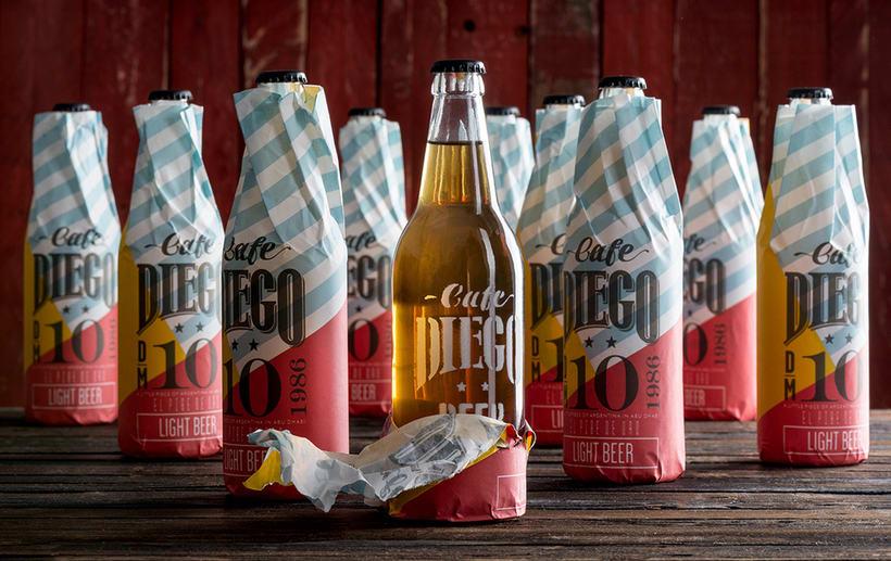 Branding futbolero: Café Diego 6