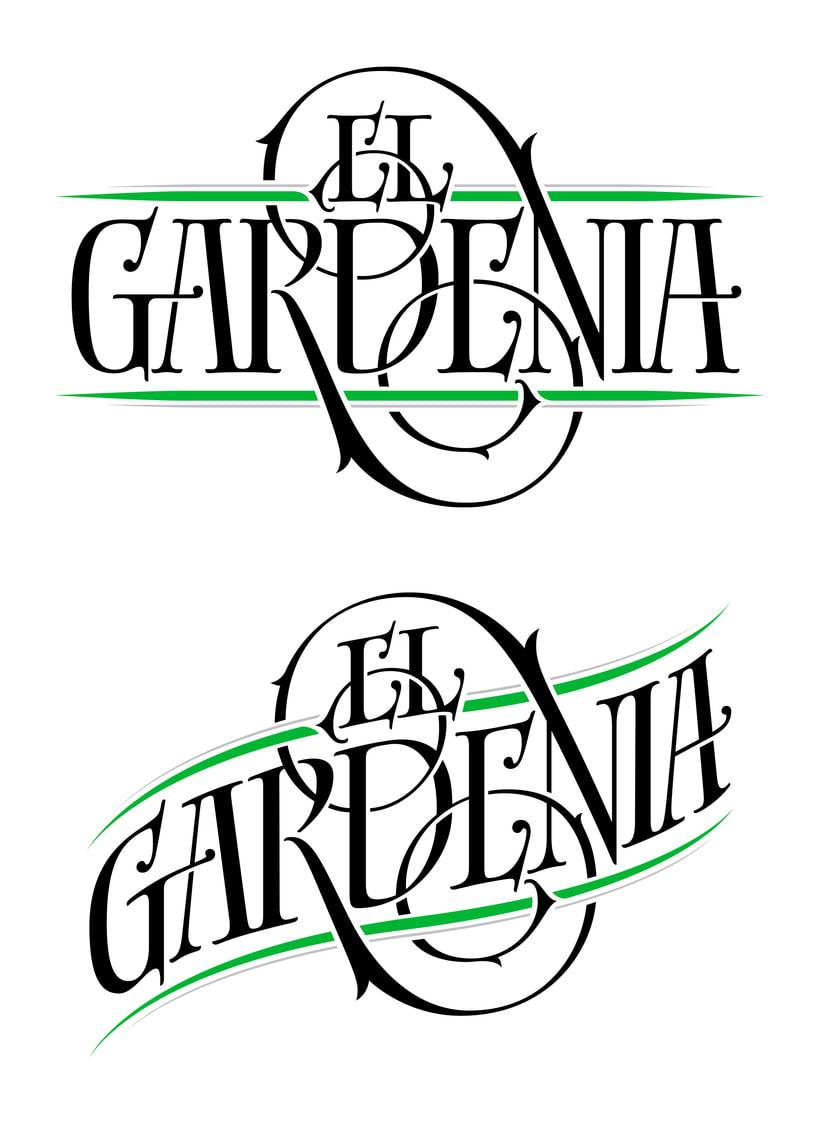 El Gardenia | Identidad & etiqueta 3