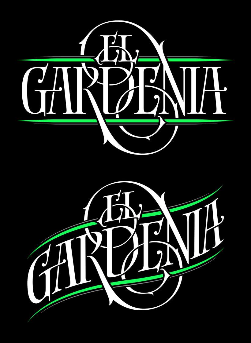 El Gardenia | Identidad & etiqueta 2
