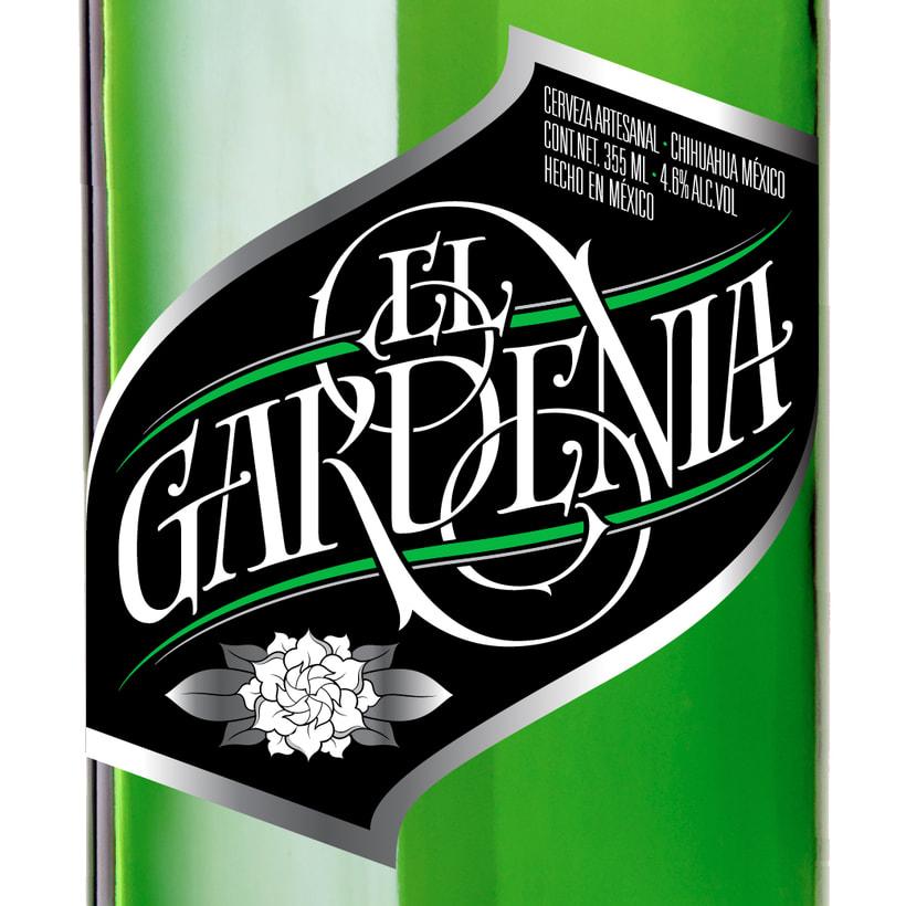El Gardenia | Identidad & etiqueta 8