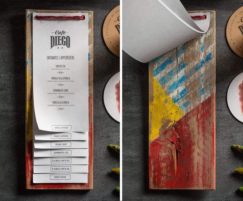 Branding futbolero: Café Diego 8
