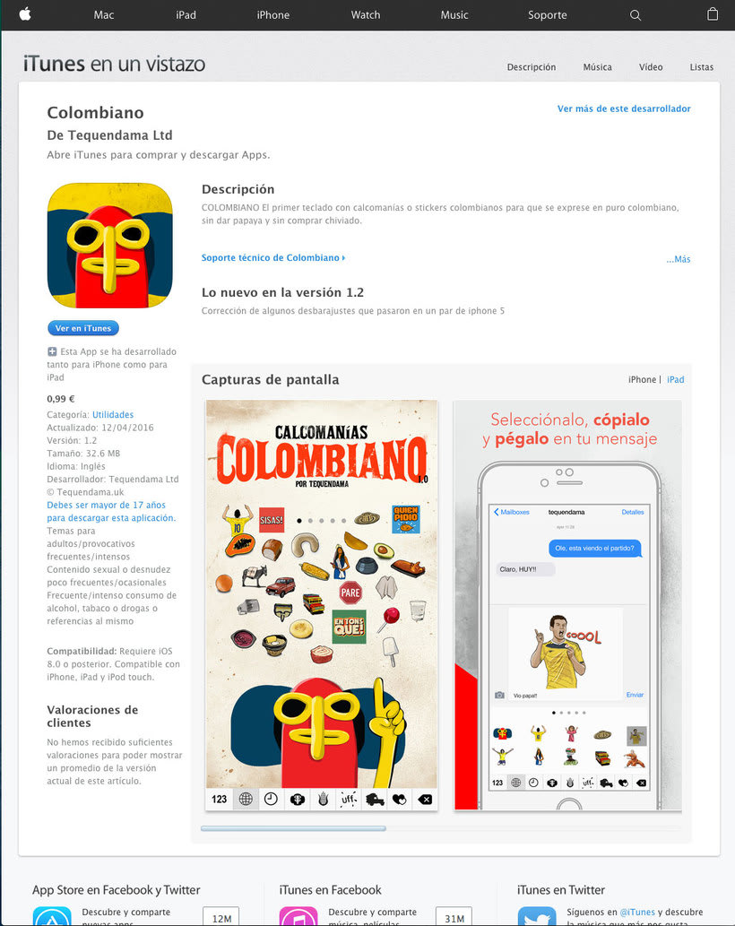 App teclado Colombiano 12