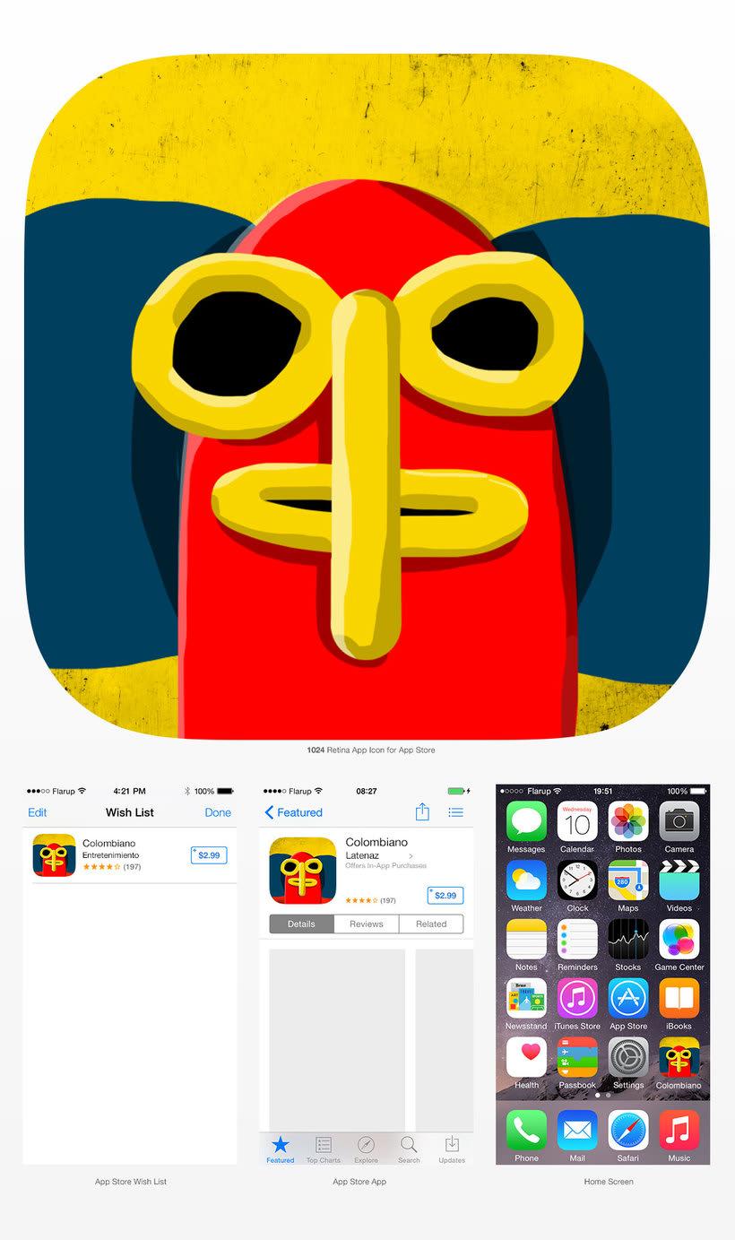 App teclado Colombiano 2
