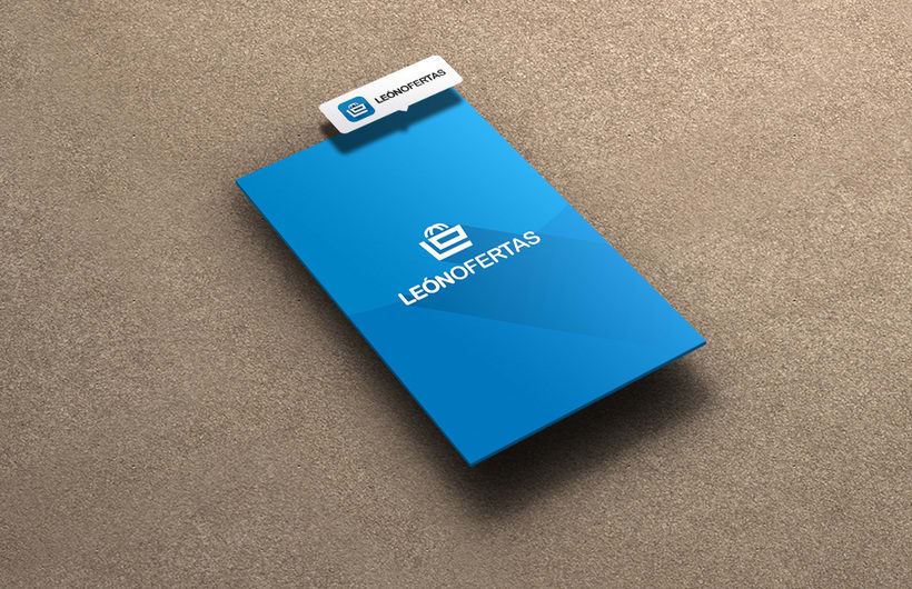 Diseño interface & Branding para App León Ofertas 3
