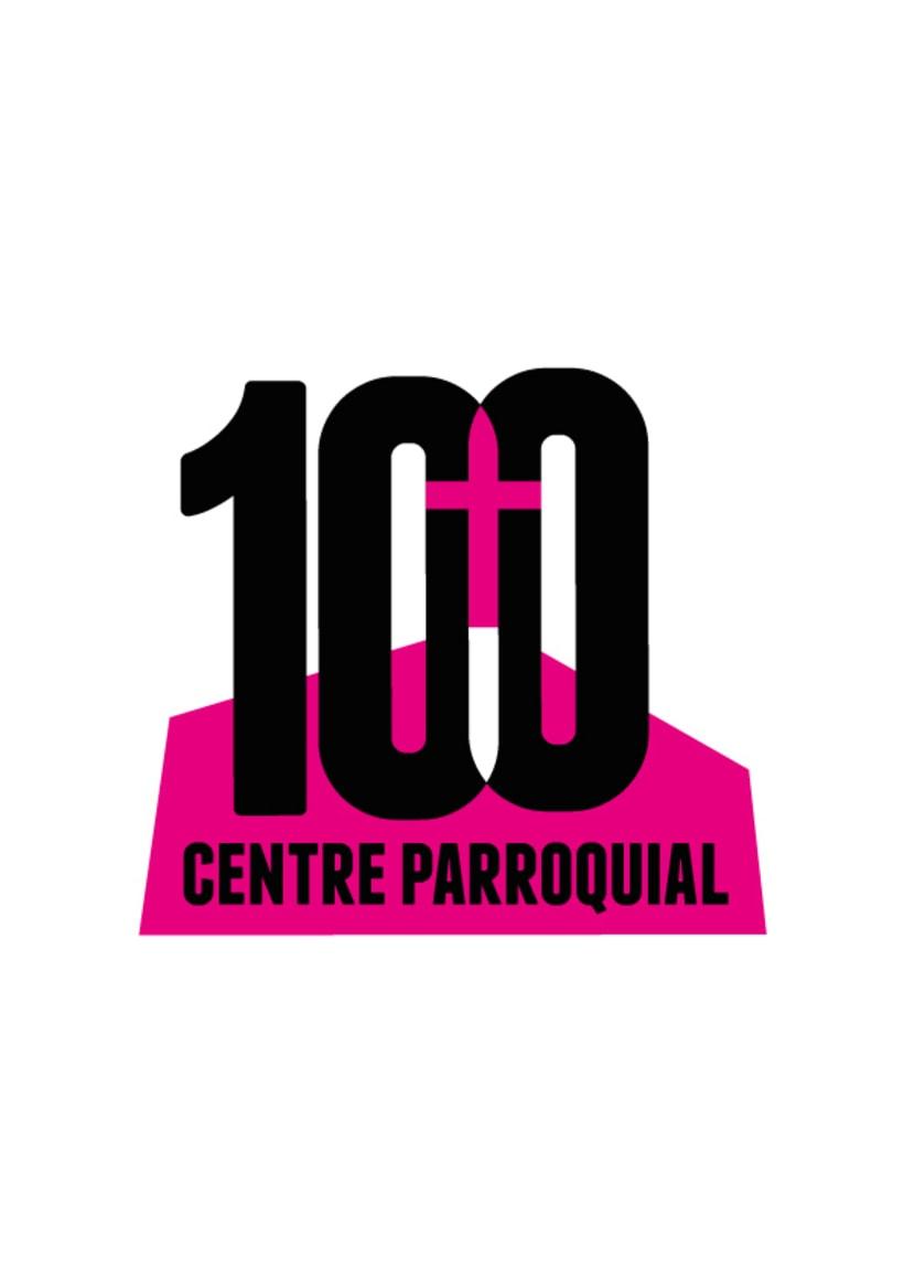 Logo Centenario Centro Parroquial (Argentona) -1