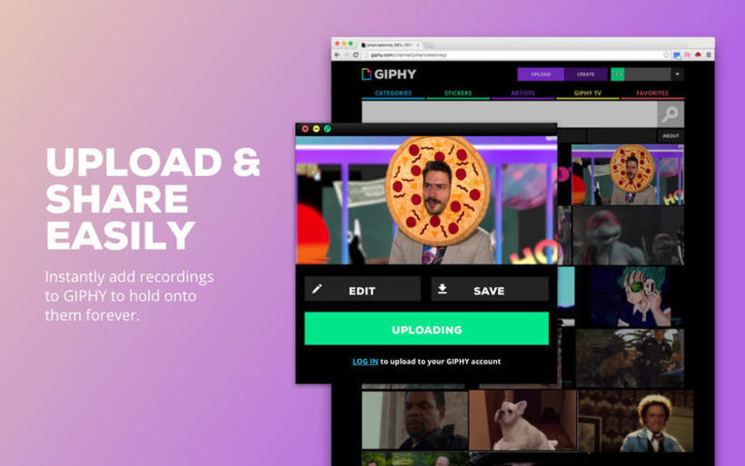 Giphy Capture, herramienta gratuita para hacer gifs 4