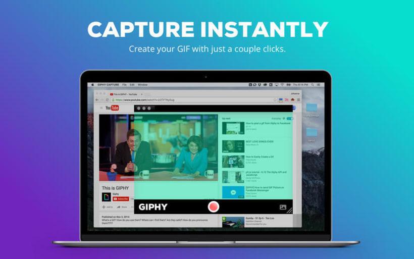 Giphy Capture, herramienta gratuita para hacer gifs 0