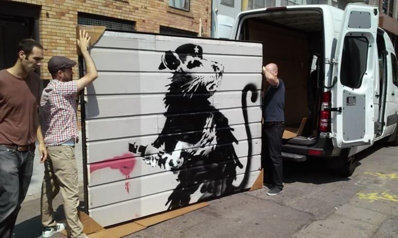 Saving Banksy, un documental acerca del robo de arte urbano 3