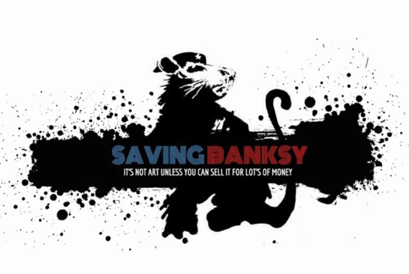 Saving Banksy, un documental acerca del robo de arte urbano 0