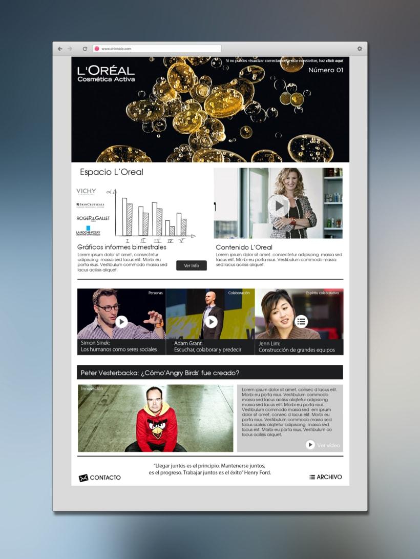 Newsletters y comunicaciones internas 0