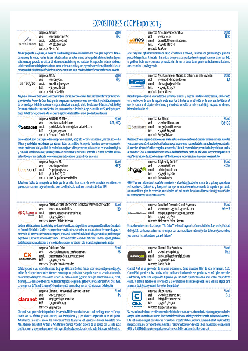 Catálogo OMExpo 2015 2