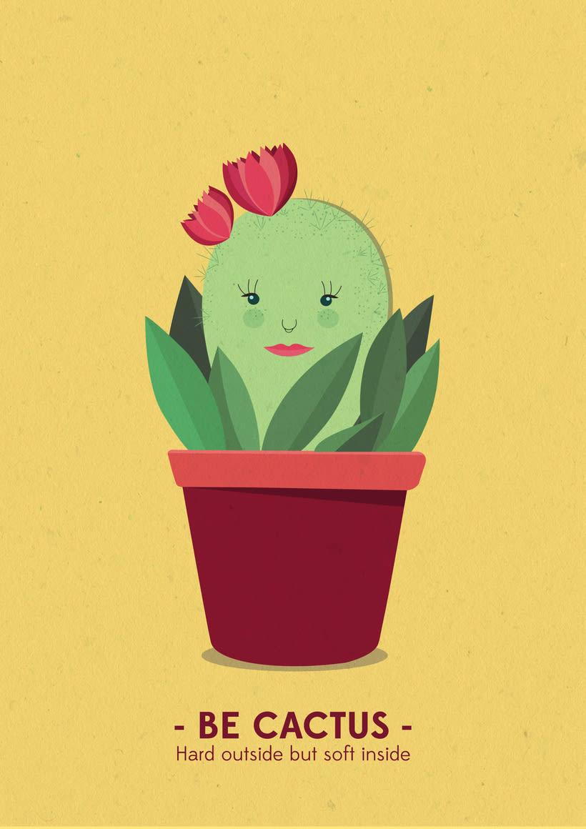 Be Cactus -1