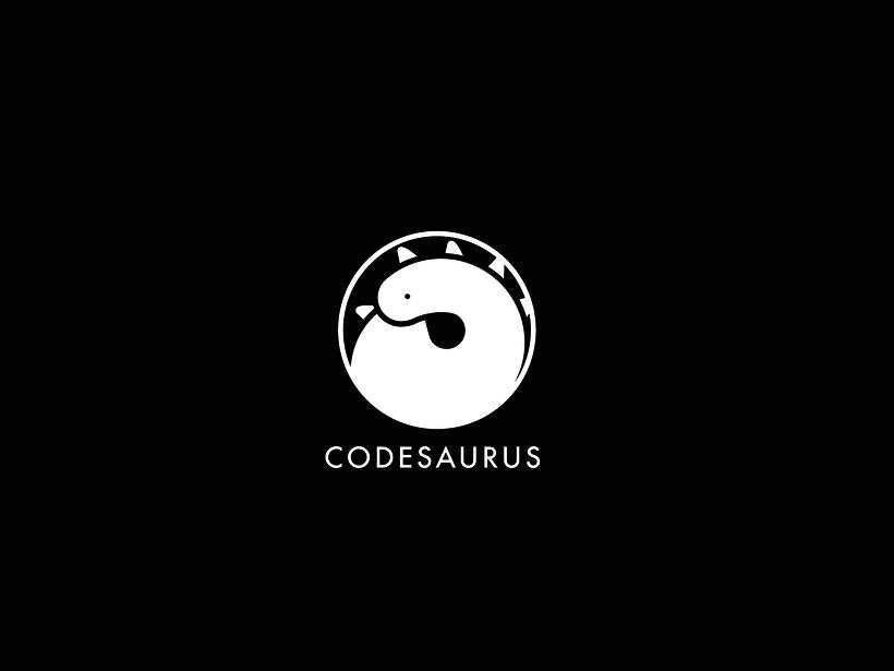 Logotipo Codesaurus 3