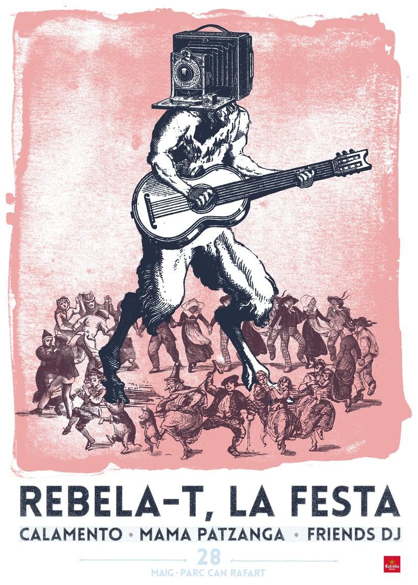 Mi cartel para el proyecto de cartelismo ilustrado! 0
