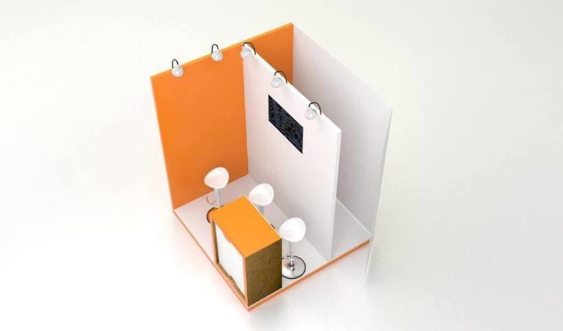 Alquiler - Venta de stands en cartón 1