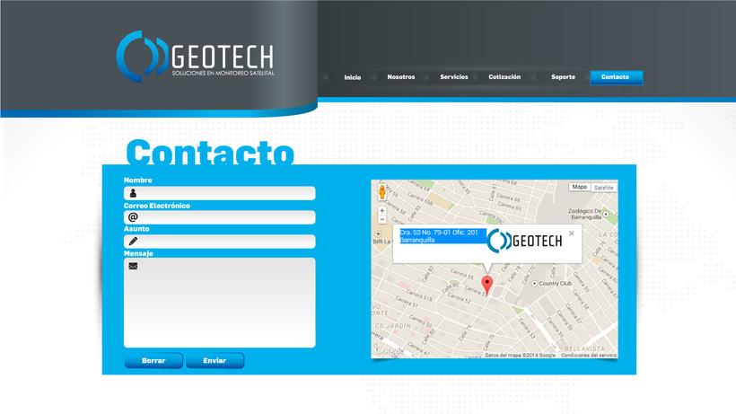 diseño web geotech2 3