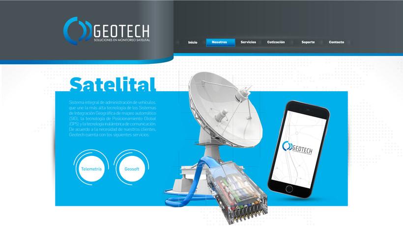diseño web geotech2 2