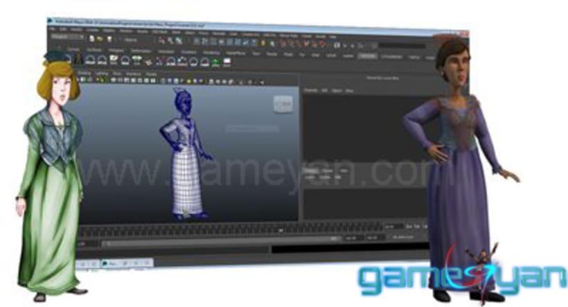 Charakter-Modellierung Sculpting Texturing 1